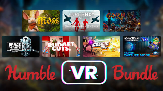 Superhot VR és Moss a Humble VR Bundle-ban