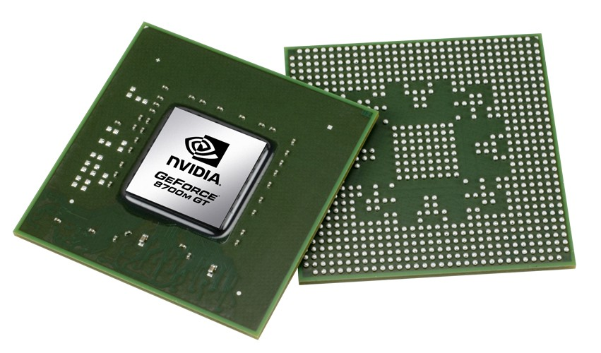 NVIDIA GeForce 8700M GT - DirectX 10 notebookokba