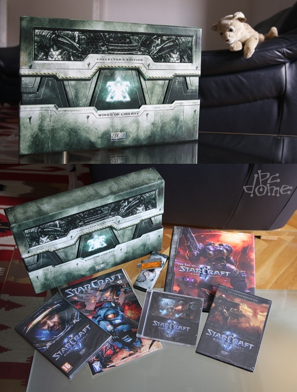 StarCraft II Collector's Edition: mi van a dobozban?