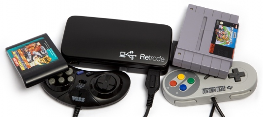 Retrode 2 - USB-s SNES/Sega Genesis adapter