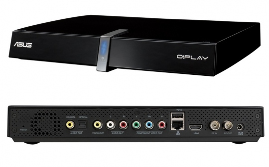 ASUS O!Play TV Pro set-top box érkezik